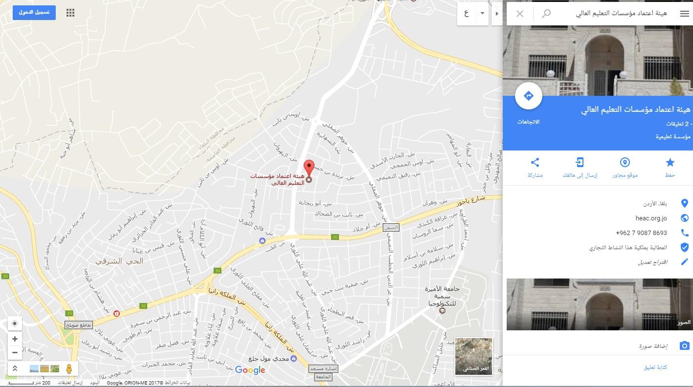 heac map